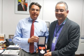 Helvécio Magalhães recebe Medalha Dr. Peter Lund